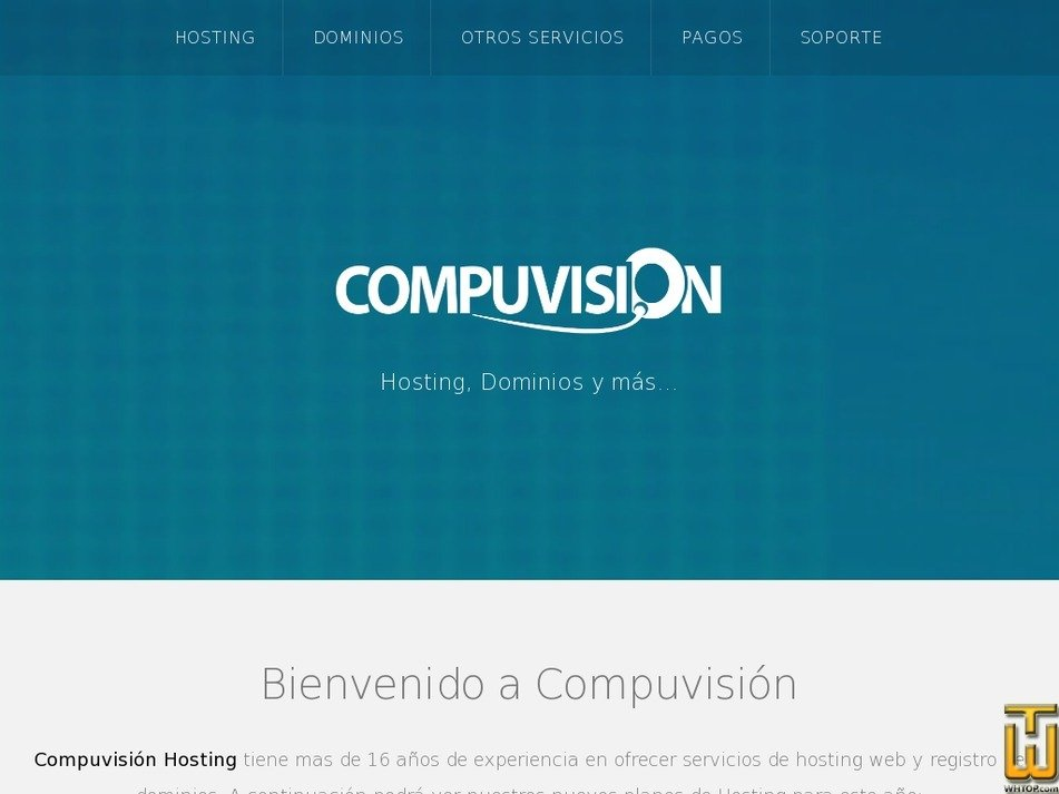 compuvisiondominios.com Screenshot