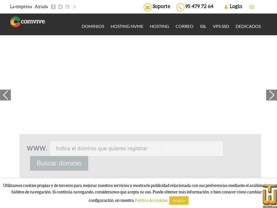 comvive.es Screenshot