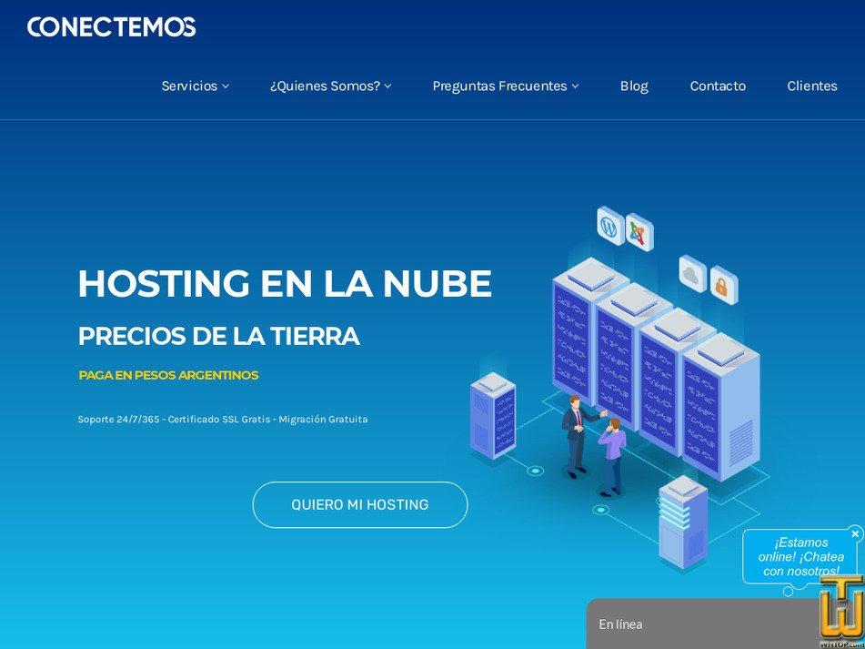 conectemos.com Screenshot