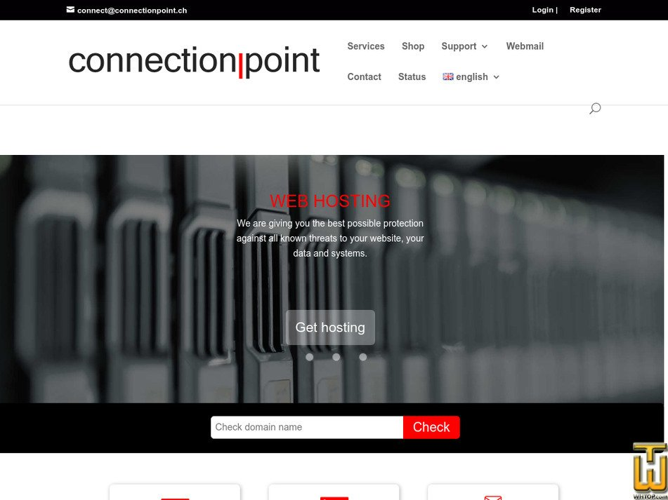 connectionpoint.ch Screenshot