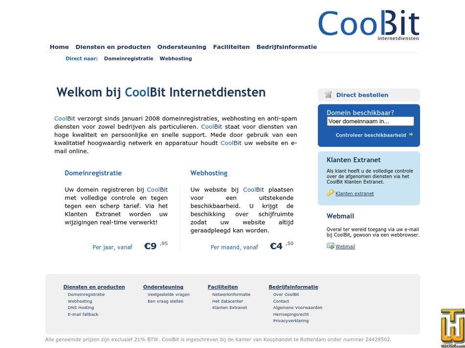 coolbit.nl Screenshot