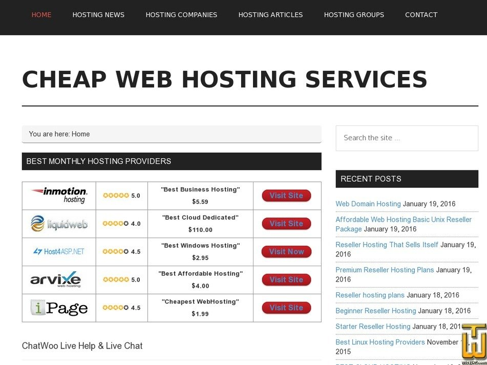 cpwebhosting.com Screenshot