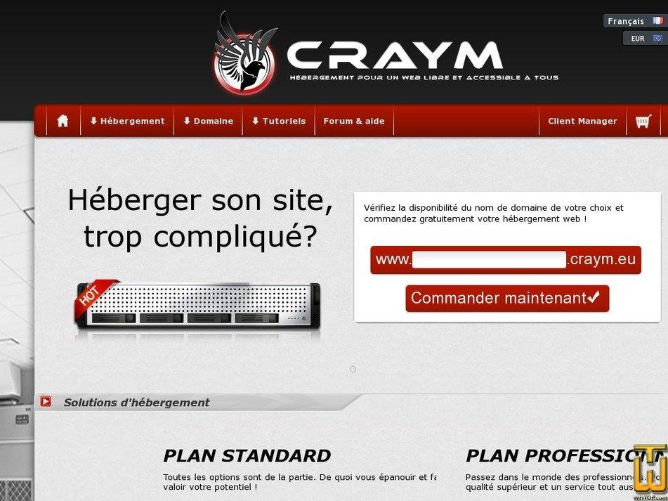 craym.eu Screenshot