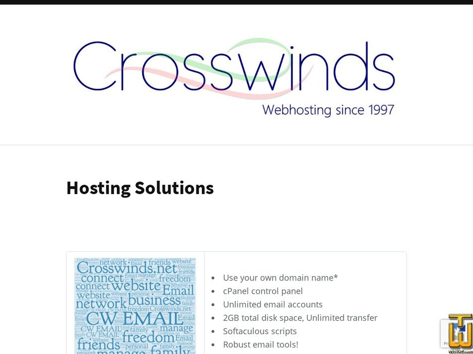 crosswinds.net Screenshot