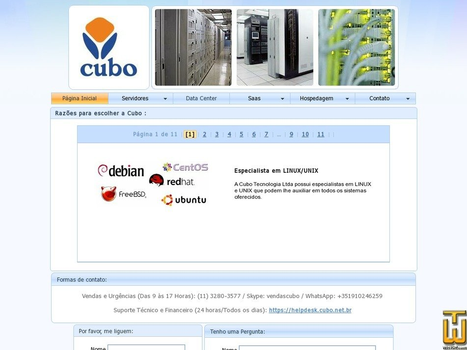 cubo.net Screenshot