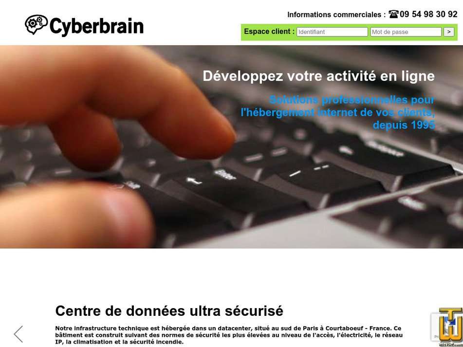 cyberbrain.net Screenshot