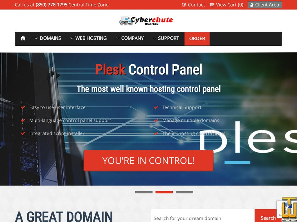 cyberchute.com Screenshot