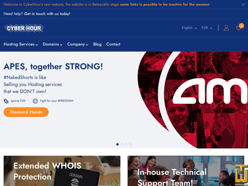 cyberhour.com Screenshot