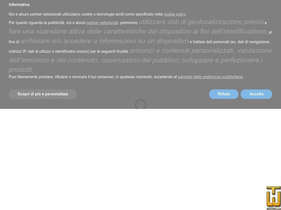 cyberspazio.org Screenshot