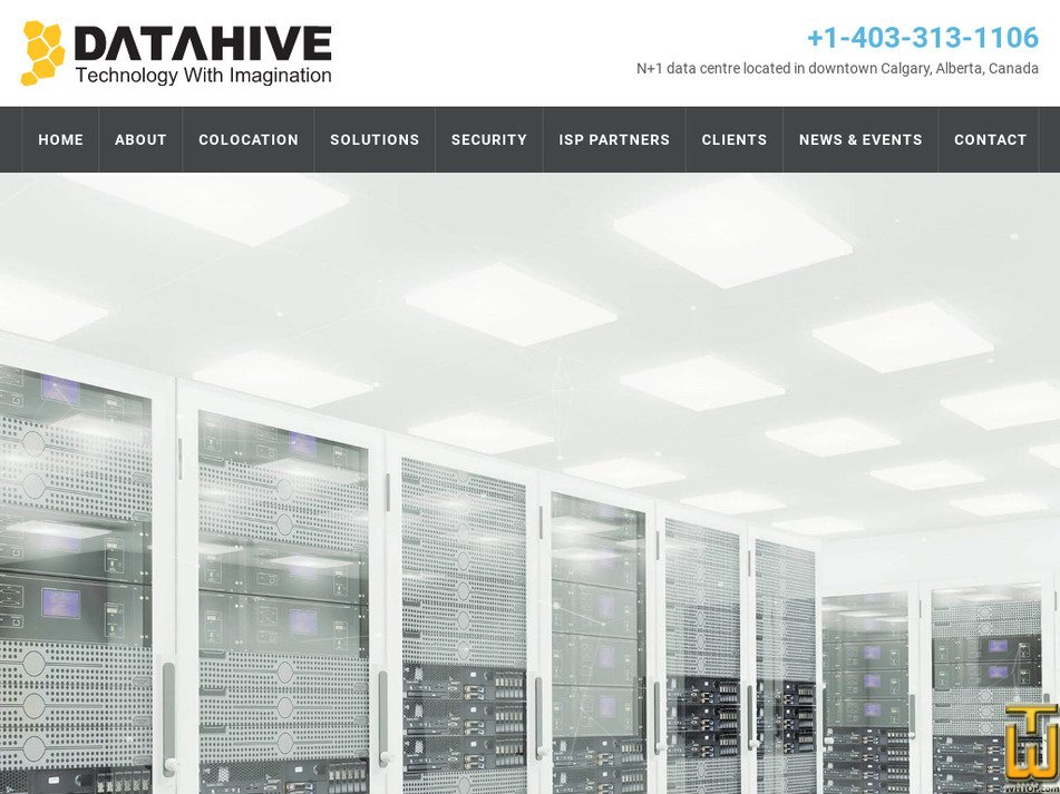 datahive.ca Screenshot