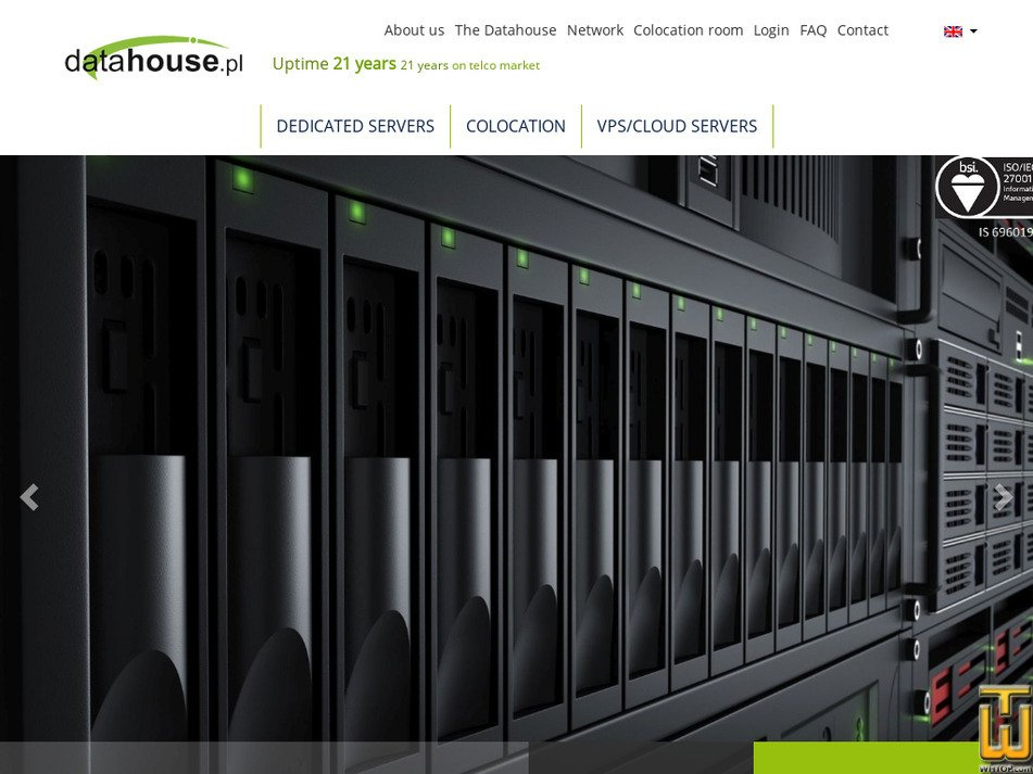 datahouse.pl Screenshot