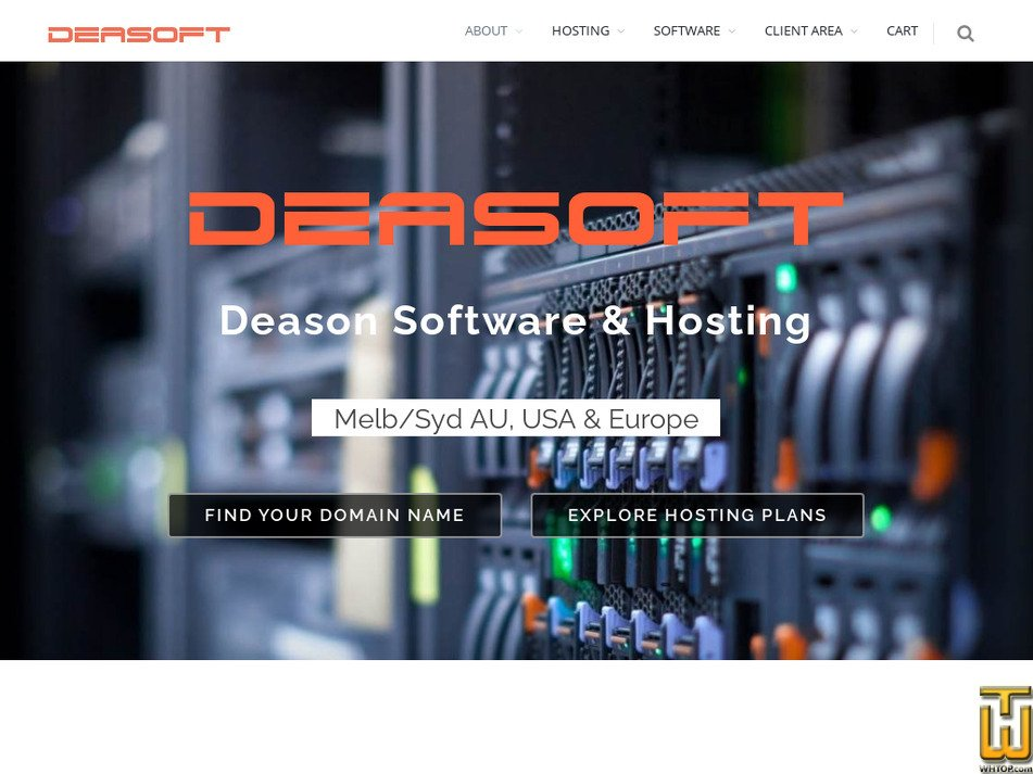 deasoft.com Screenshot