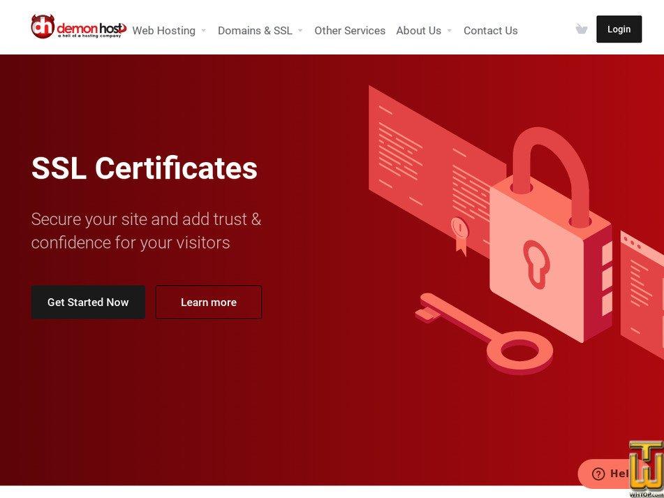 demon-host.com.au Screenshot
