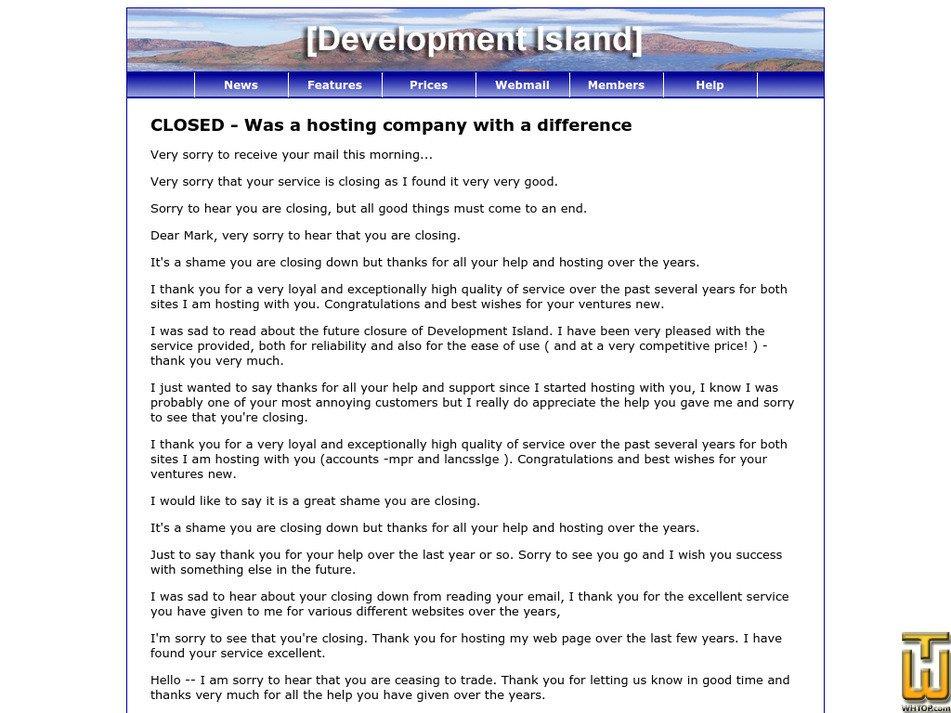 devisland.net Screenshot