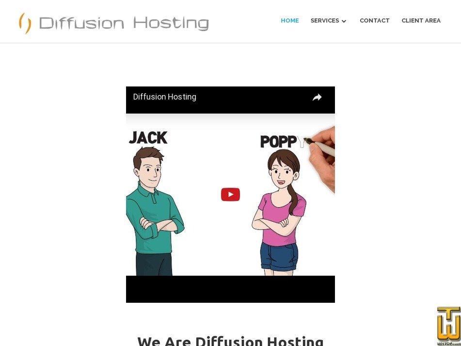 diffusionhost.com Screenshot