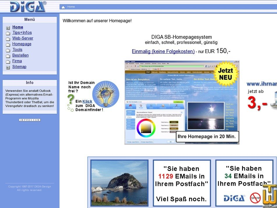 diga.com Screenshot