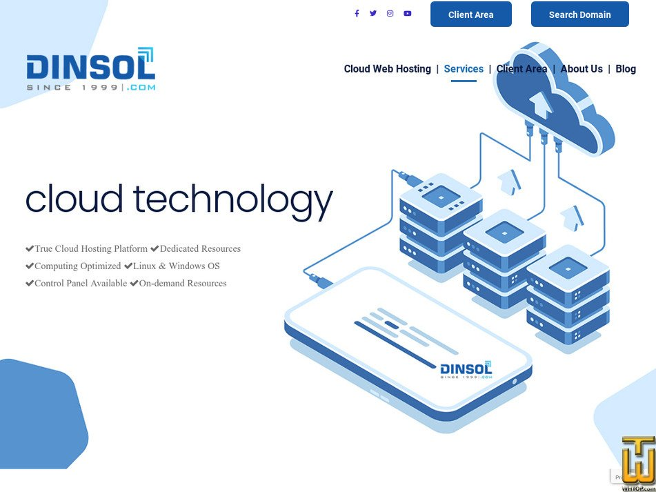 dinsol.com Screenshot