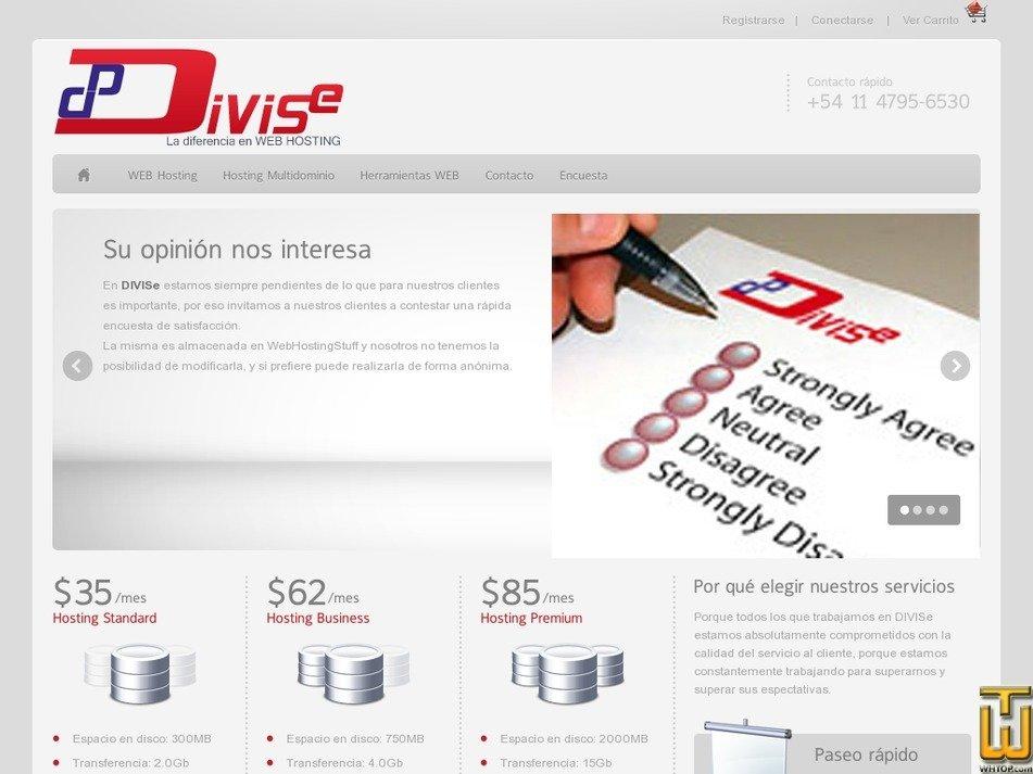 divise.com.ar Screenshot
