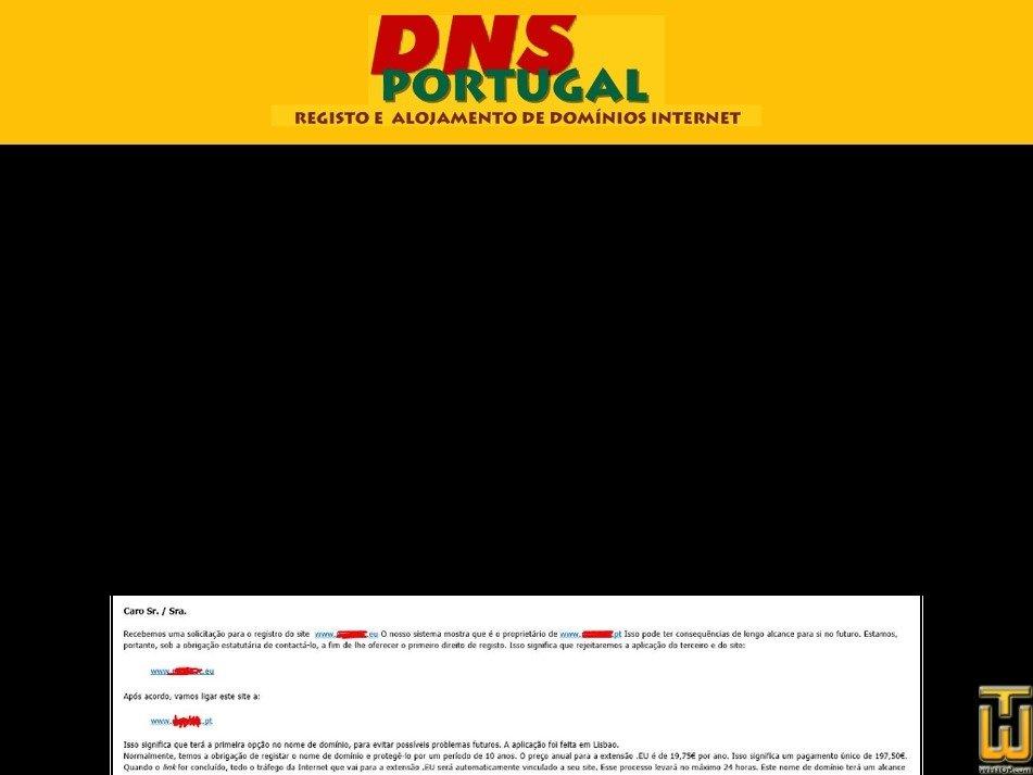 dnsportugal.com Screenshot
