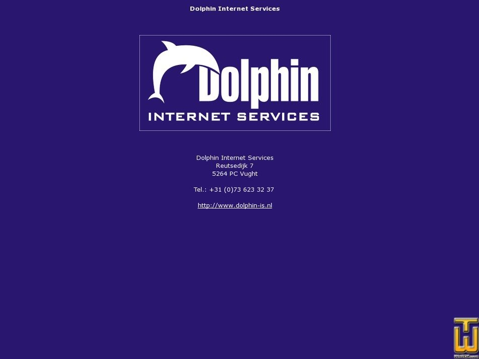 dolphin-is.nl Screenshot