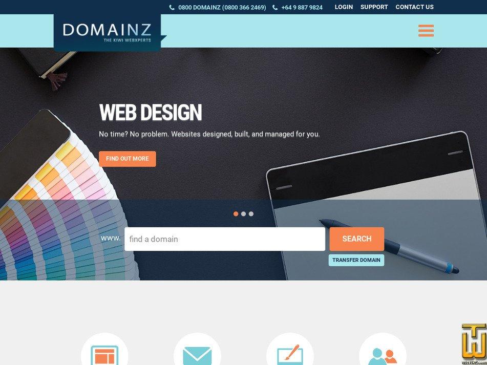 domainz.net.nz Screenshot