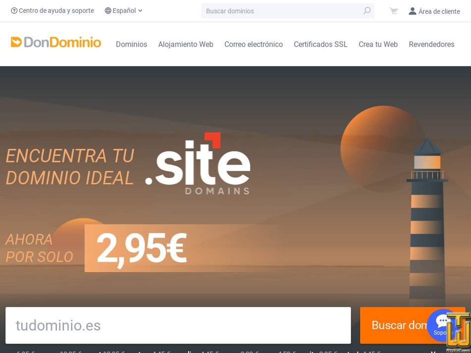 dondominio.com Screenshot