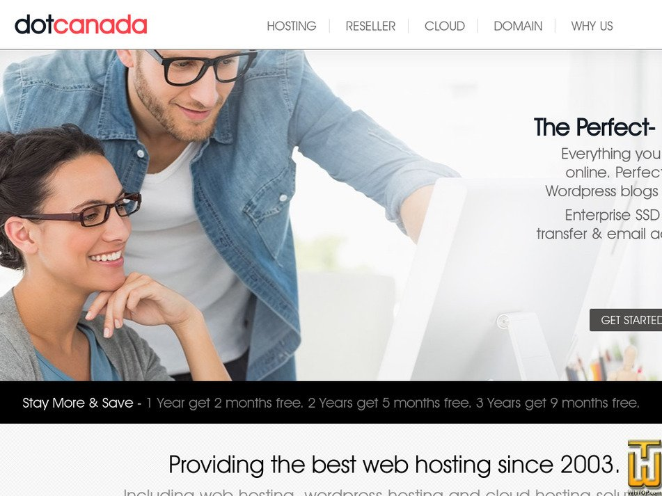 dotcanada.com Screenshot