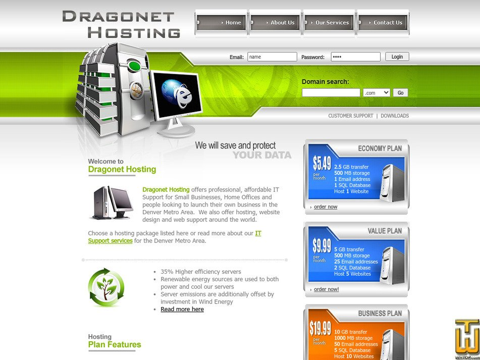 dragonetsolutions.com Screenshot