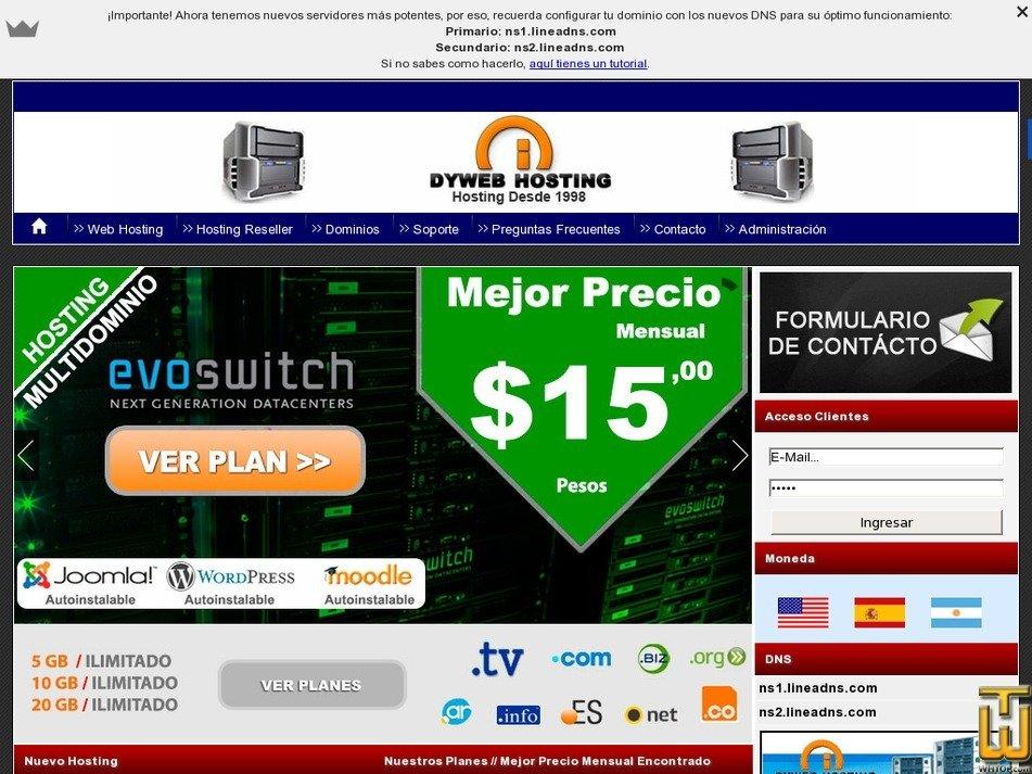 dyweb.com.ar Screenshot