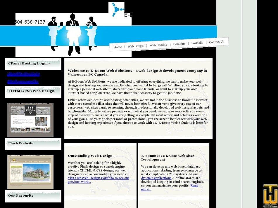 eboomwebsolutions.com Screenshot