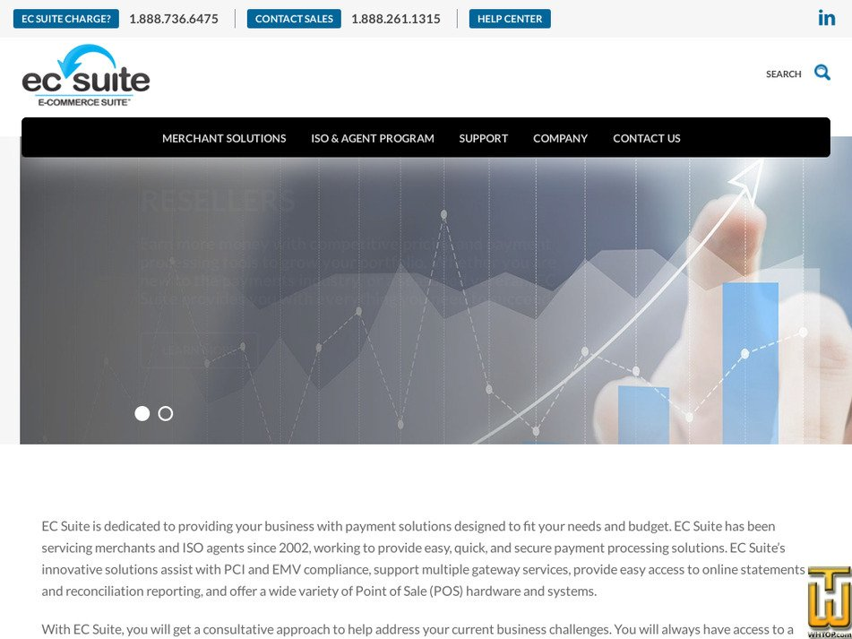 ecsuite.com Screenshot