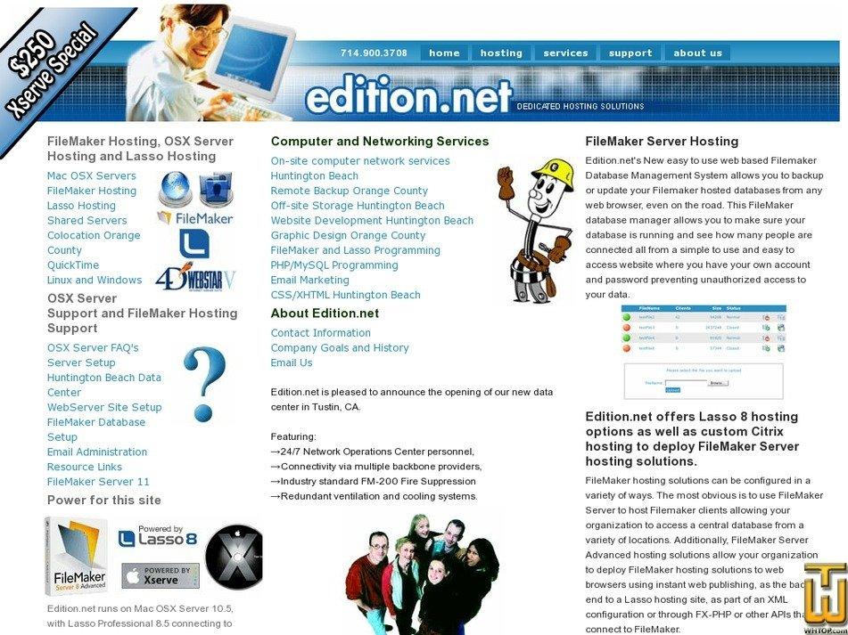 edition.net Screenshot