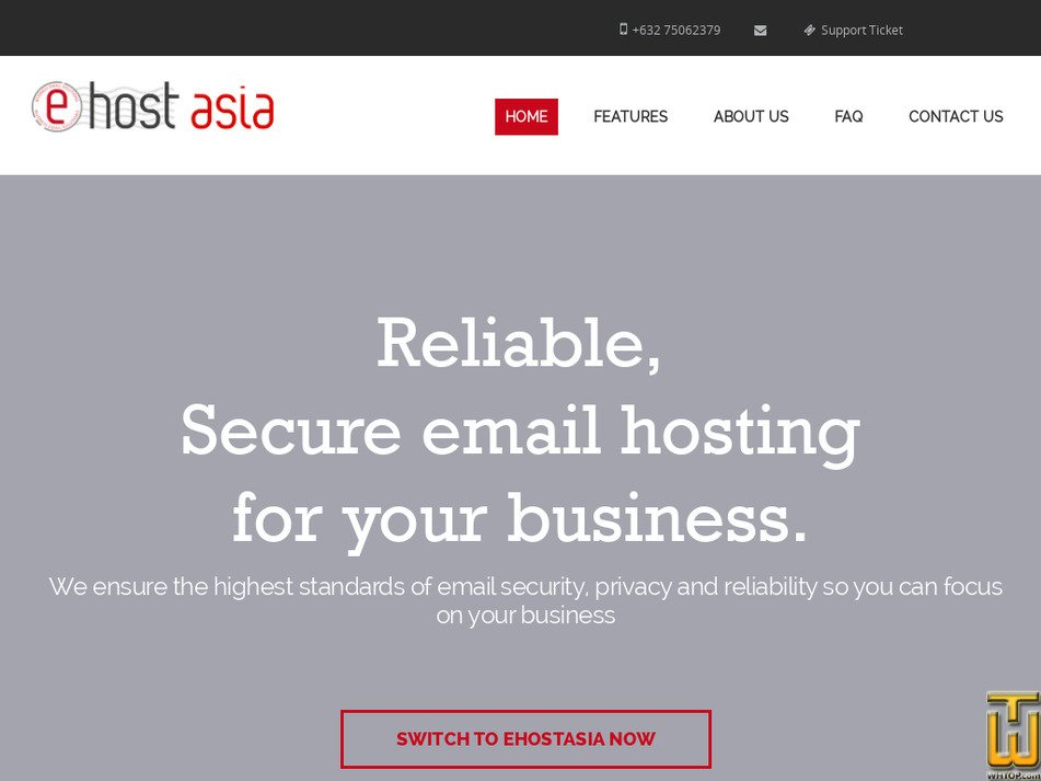 ehostasia.com Screenshot