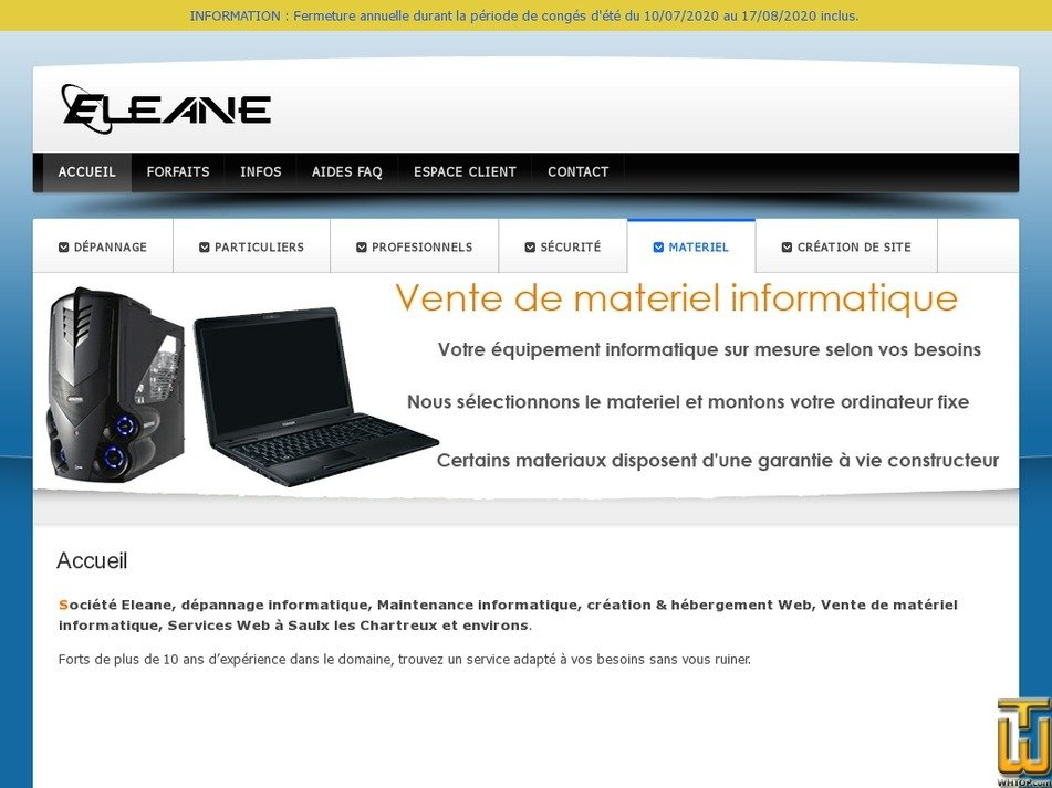 eleane.com Screenshot