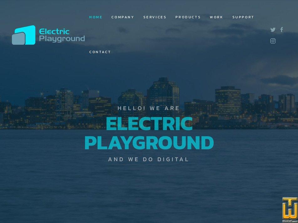 electric-playground.com Screenshot
