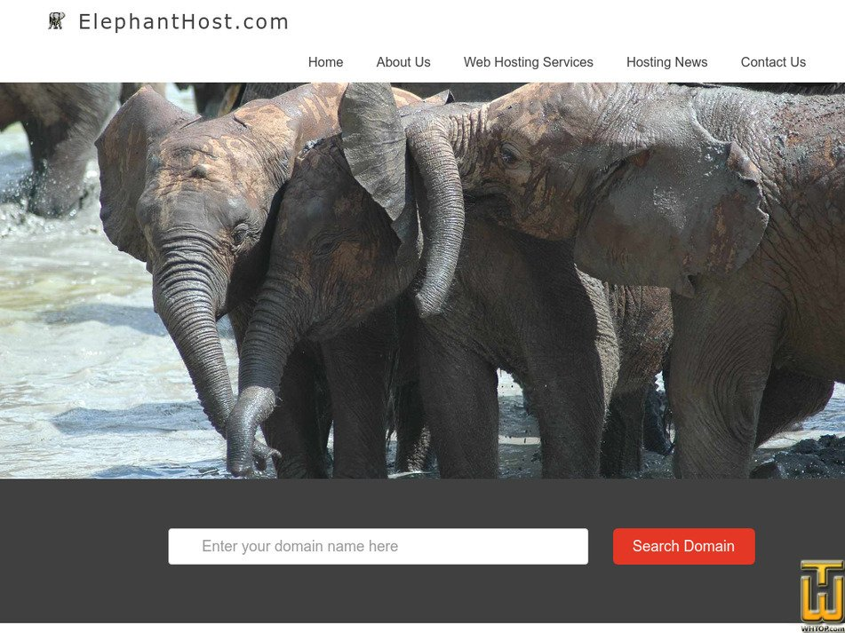 elephanthost.com Screenshot