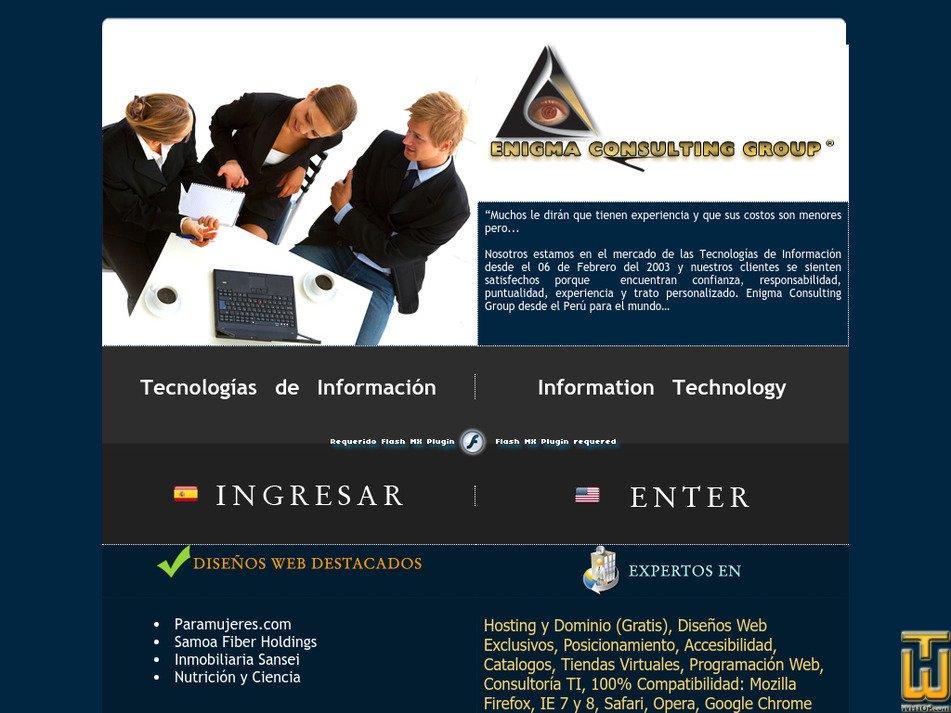 enigmacg.com Screenshot