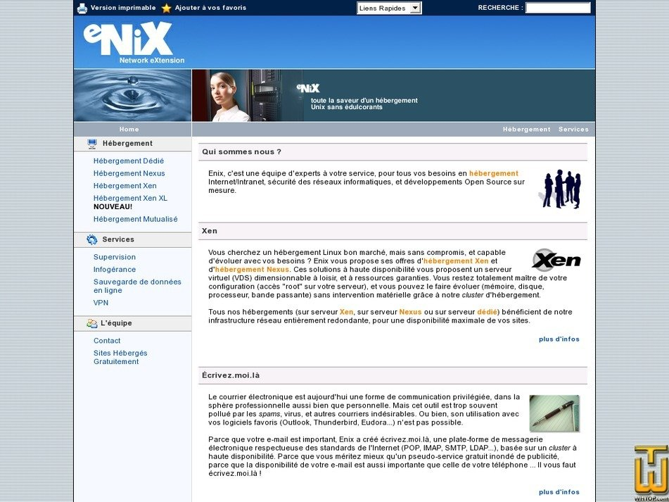 enix.org Screenshot