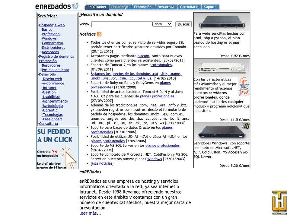 enredados.com Screenshot