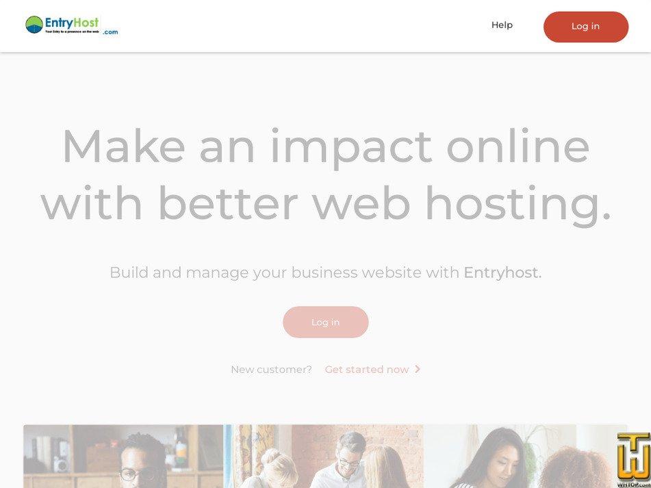 entryhost.com Screenshot