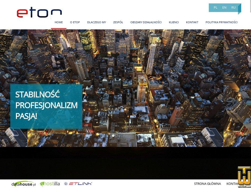 etop.pl Screenshot