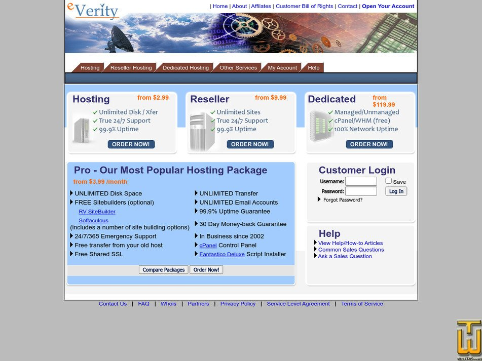 everity.com Screenshot