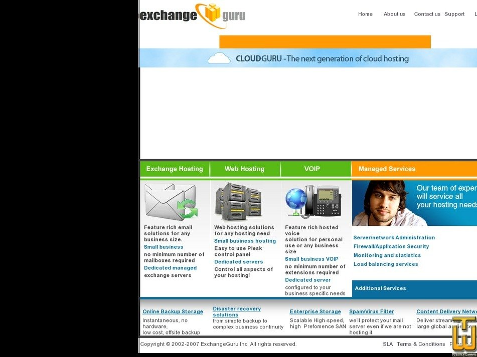 exchangeguru.net Screenshot