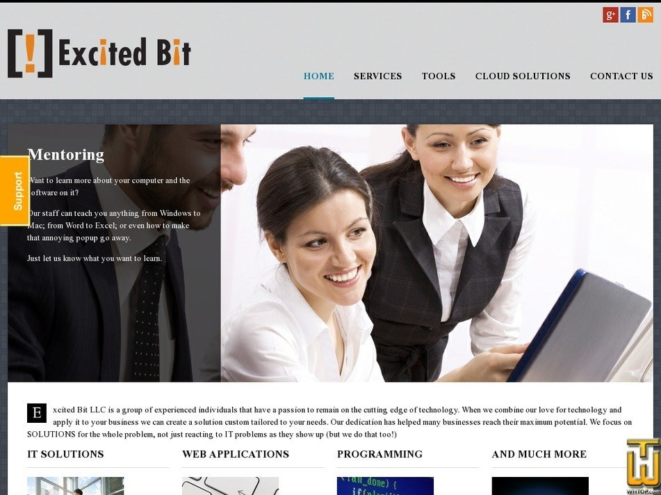 excitedbit.com Screenshot