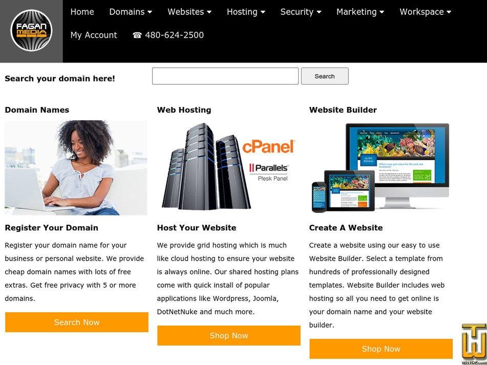 faganmedia.com Screenshot