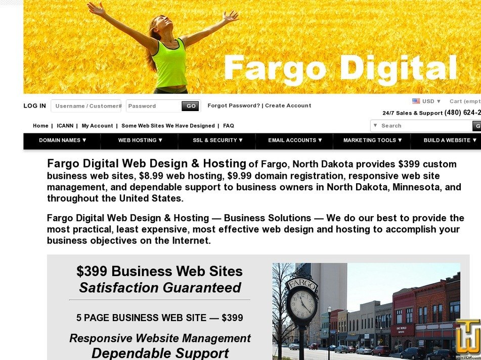 fargodigital.com Screenshot