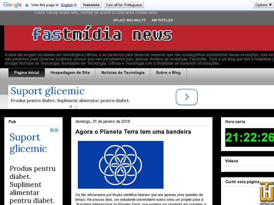 fastmidia.com.br Screenshot
