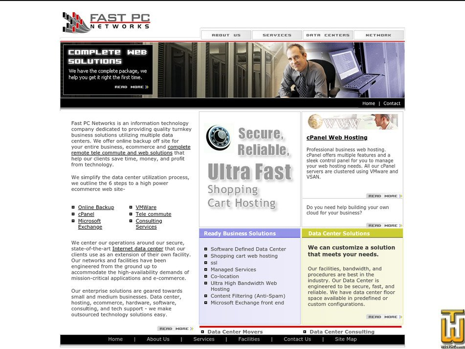 fastpcnet.net Screenshot