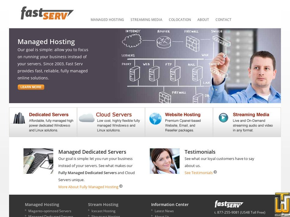 fastserv.com Screenshot