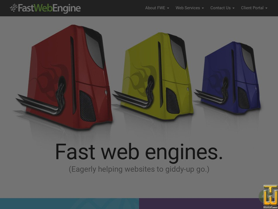 fastwebengine.com Screenshot